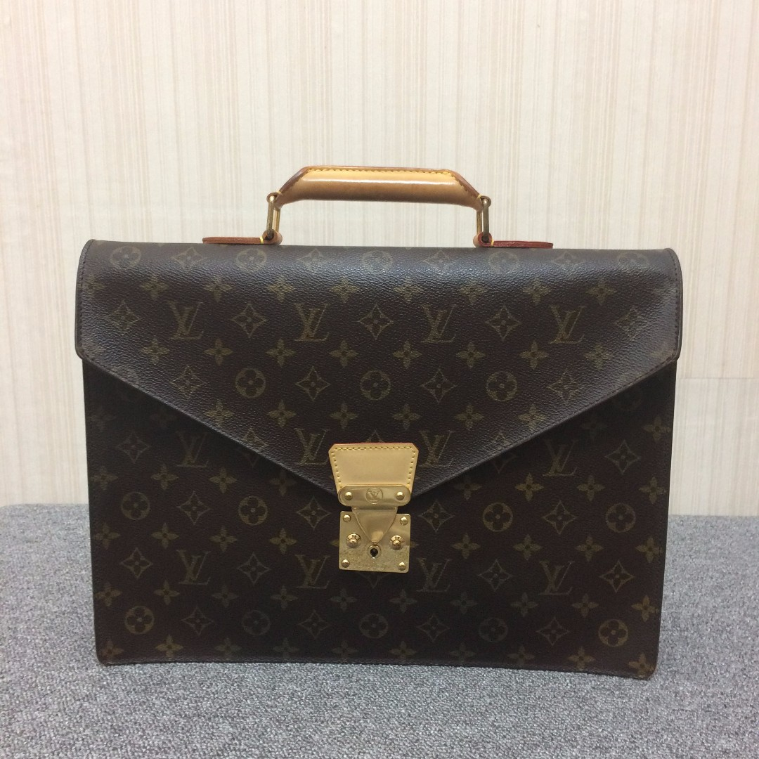 Louis Vuitton LV 經典 絕版原花公事包