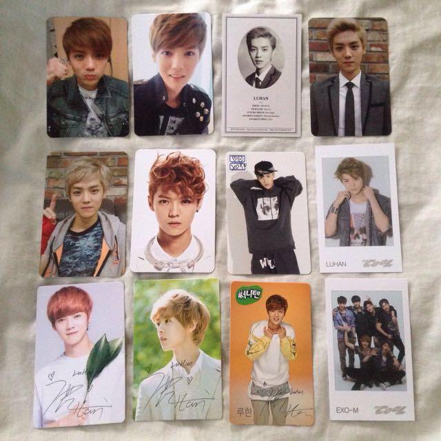 Luhan photocard - photo card - EXO - Trade or sell