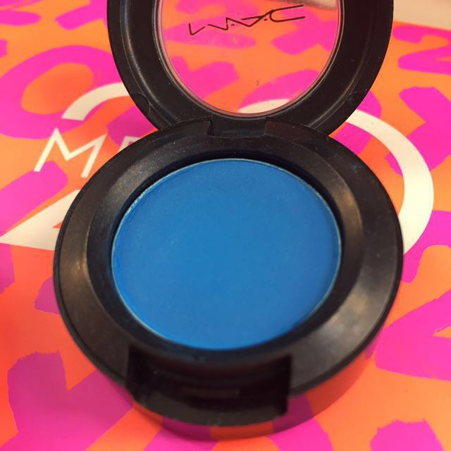 MAC electric eel satin eyeshadow