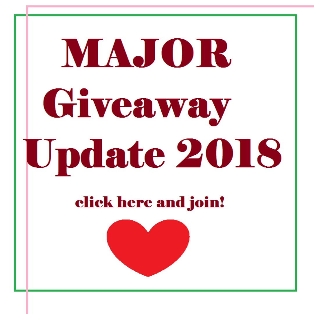 MAJOR Giveaway Update 2018