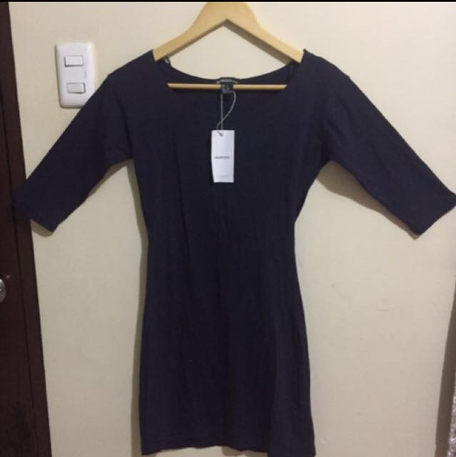 Mango Basic dress
