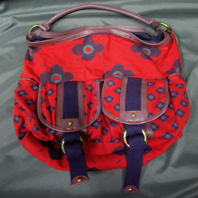 MARC by Marc Jacobs Hobo Canvas Multi Pocket Bag