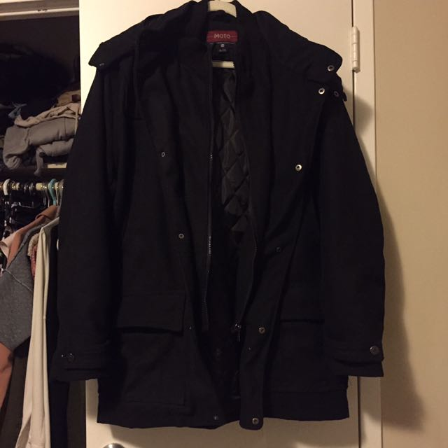 Men's dressy winter jacket