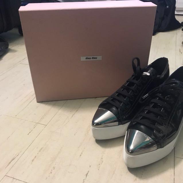 Miu Miu platform sneakers