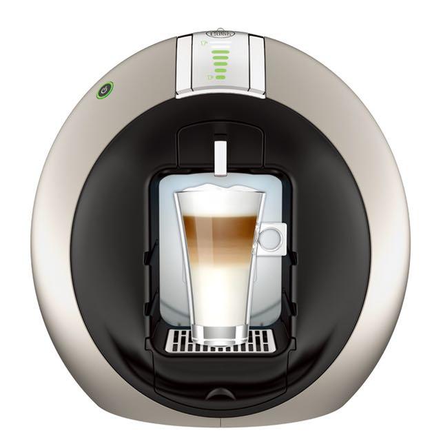 [全新]雀巢咖啡機New Circolo(鈦銀色)