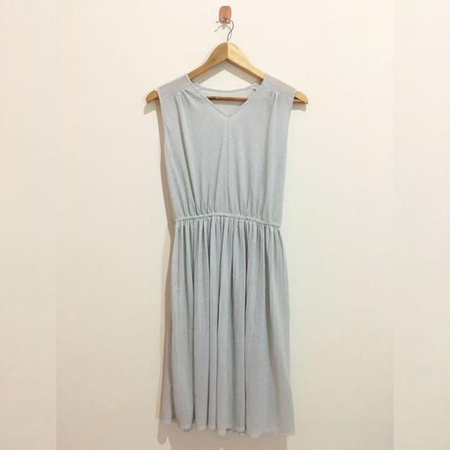NEW SILVER MINI DRESS / DRESS PESTA