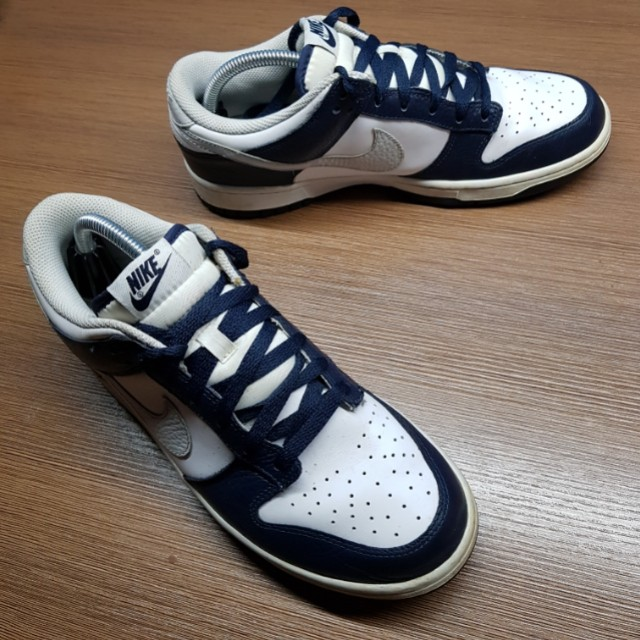 wholesale dealer 5aec0 739bf ... Nike Dunk Low - Obsidian - Neutral Grey - White, Men s Fashion,  Footwear ...