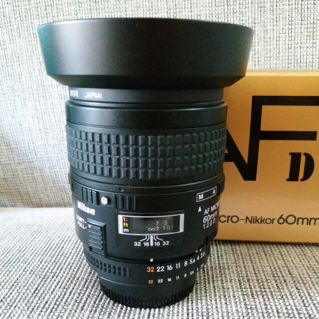 Nikon 60mm F2.8 AF D Micro lens