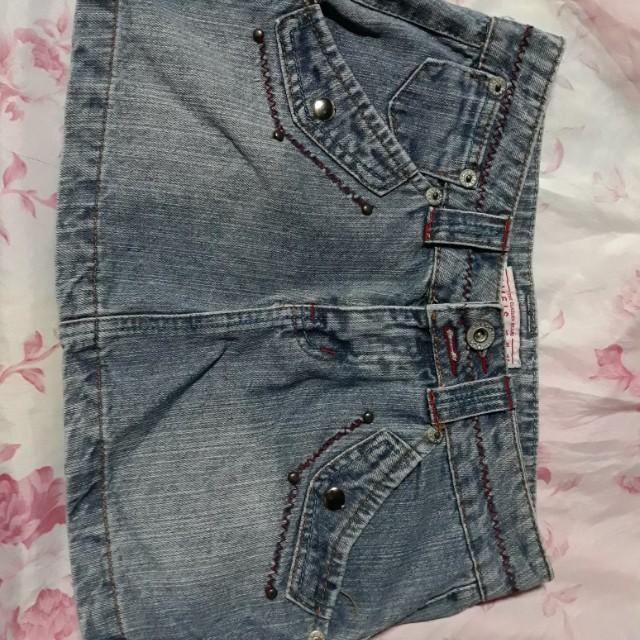 Nimels natural jeans skirt