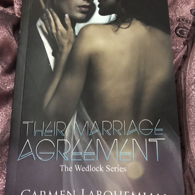 Novel Their Marriege Agreement