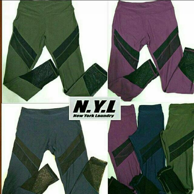 N.Y.L Longpants Mesh Panel Sportwear JF