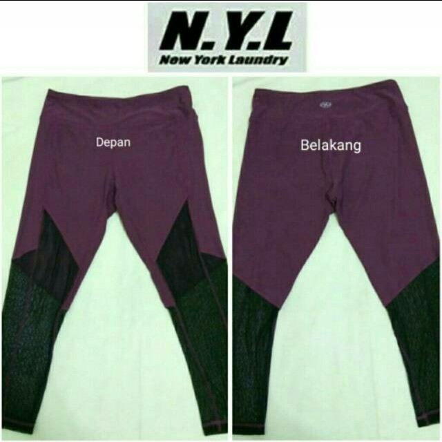 N.Y.L Mesh Capri 7/8 Sportwear JF