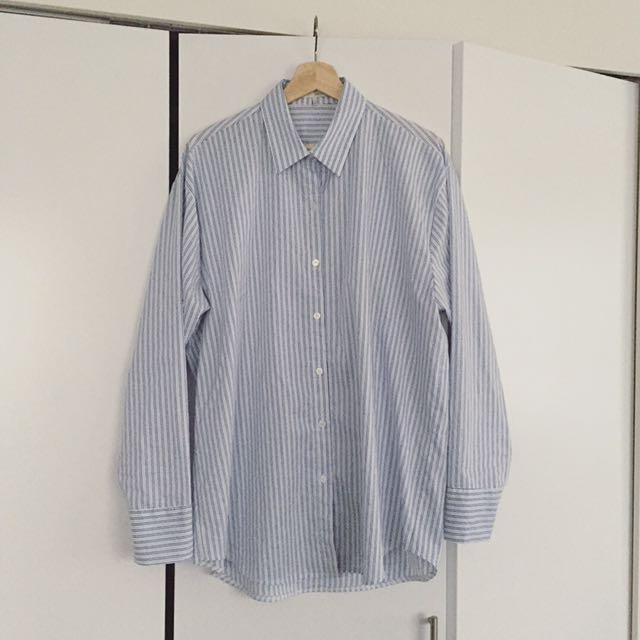OAK + FORT Boyfriend Shirt