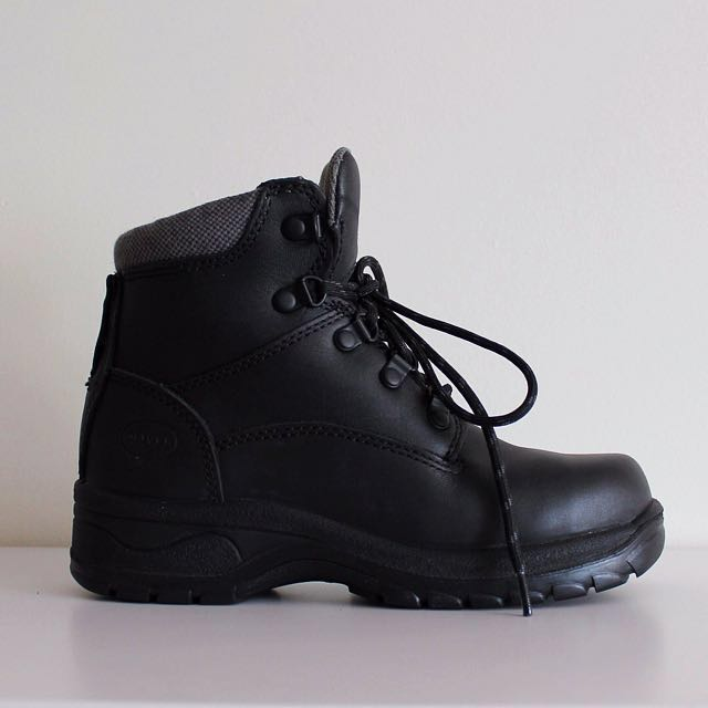 Oliver PB 49 Series Black Lace Up Boot