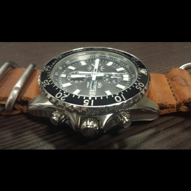 Orient Watch Captain