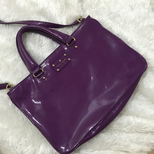Original KATE SPADE violet Bag