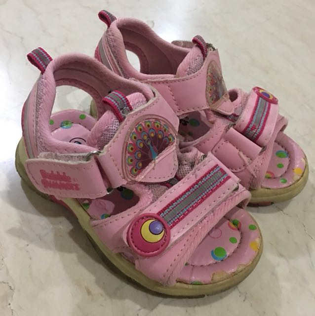 Pink Bubble Gummers Shoe Sandals