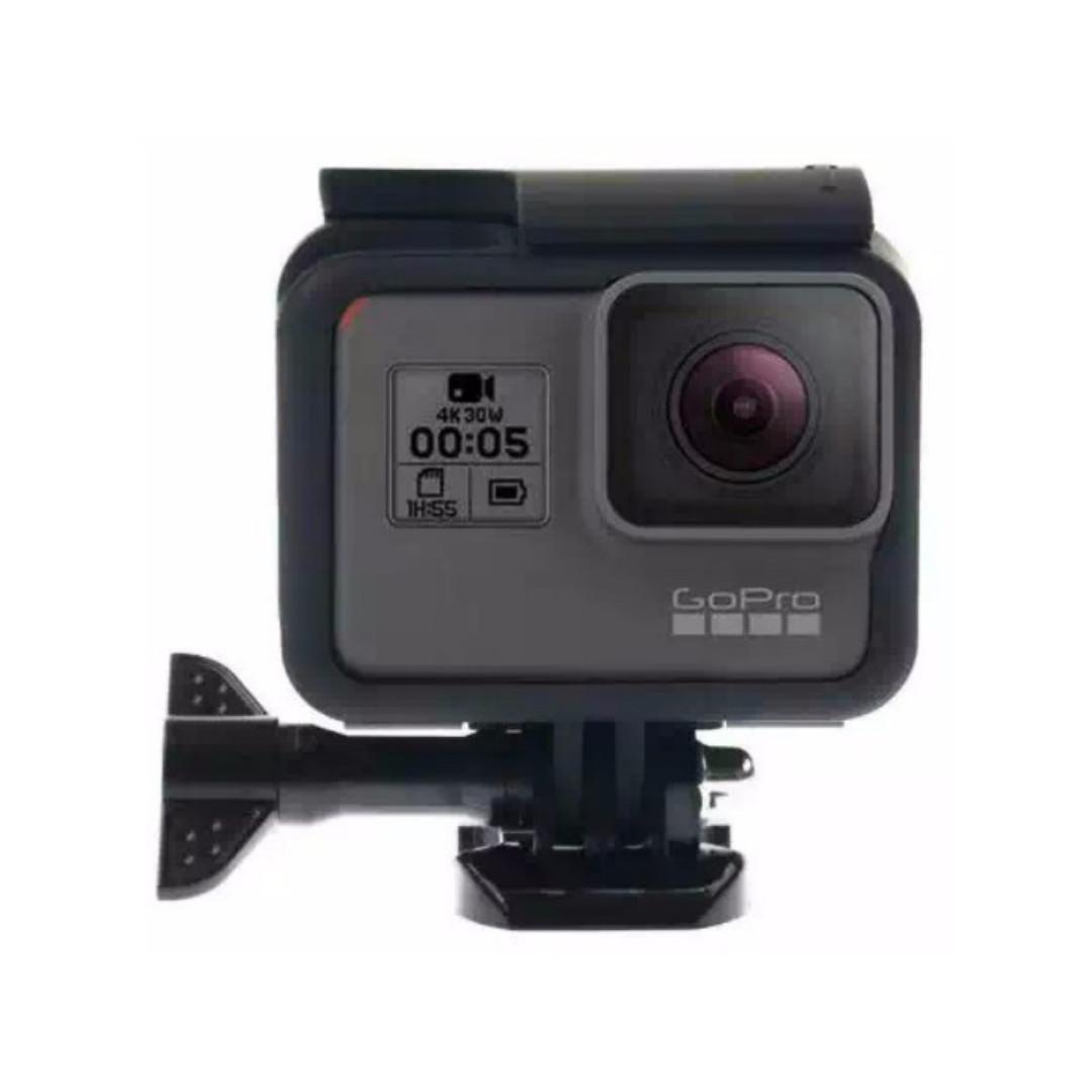 Plastic Protective Side Frame Case Bumper for GoPro Hero 5 - Black