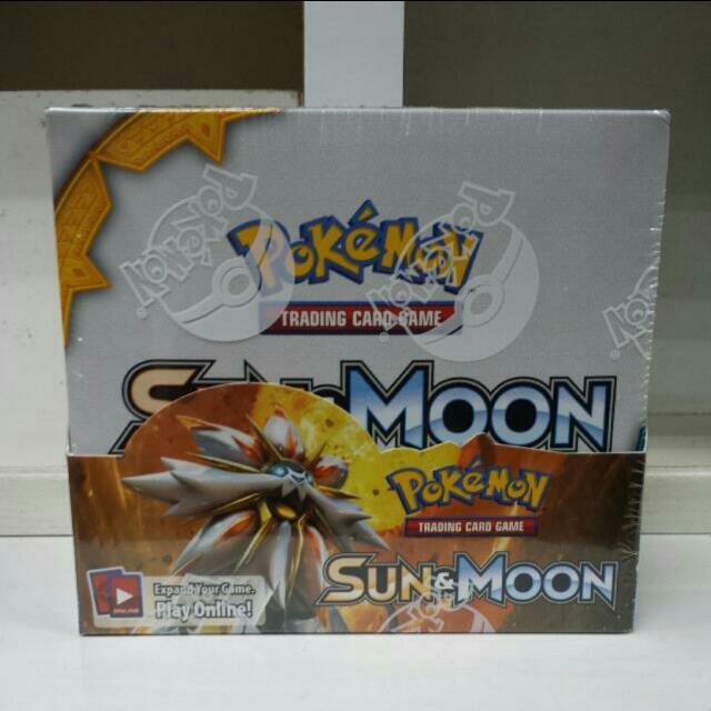 Pokemon TCG XY Sun & Moon Base Set ($4.60 Per Pack) ($139 Per Box)