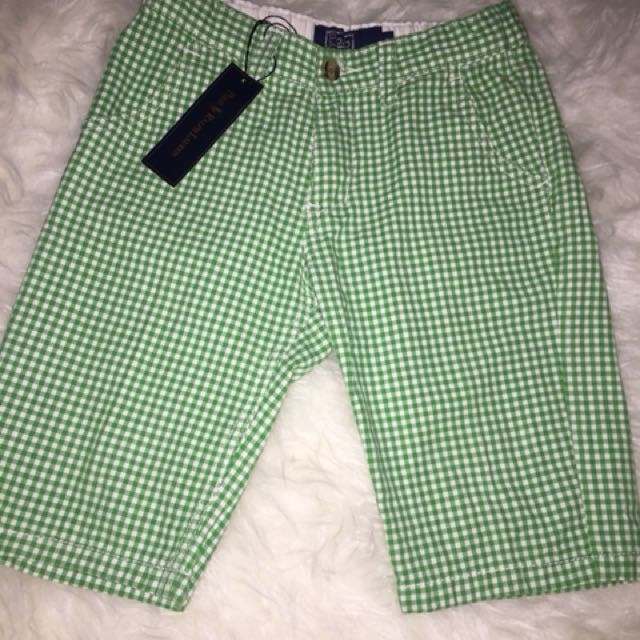 Polo short hijau