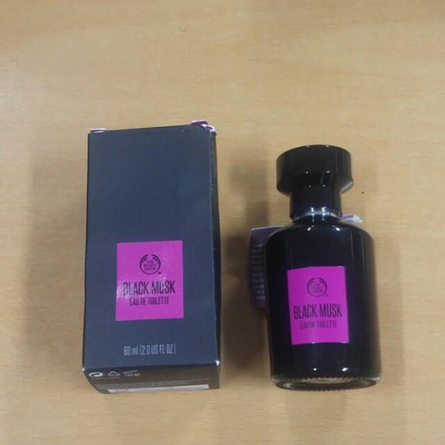PRELOVED THE BODY SHOP BLACK MUSK EDT 60 ML