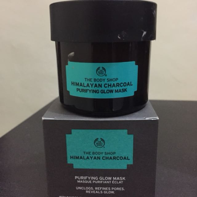 Preloved The Body Shop Himalayan Charcoal