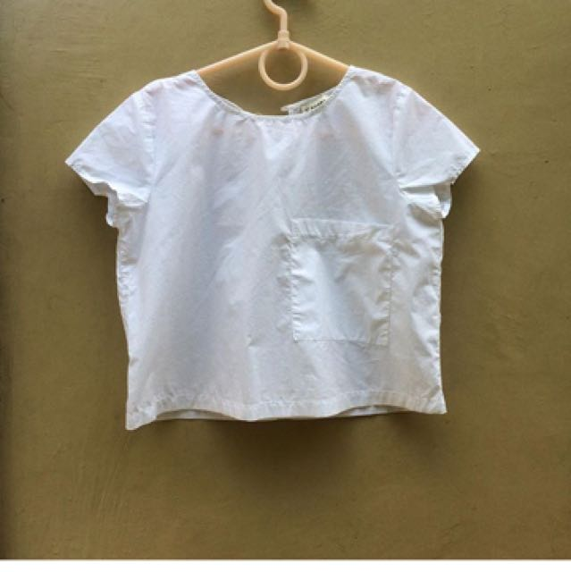 Pull N Bear Boxy Top
