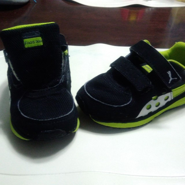 Puma rubbershoes for boys