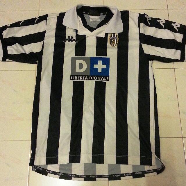 c594d6d2c7f RARE Juventus Home Jersey Kappa D+ Large