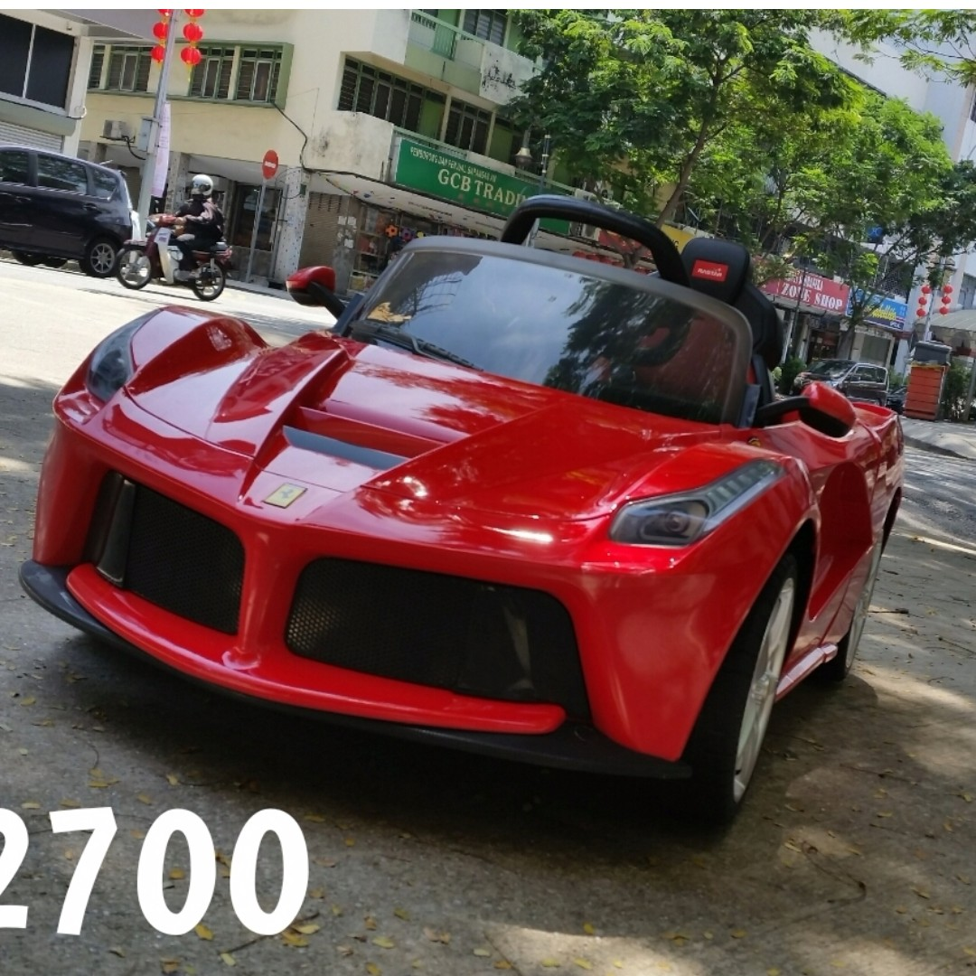 Rastar Licensed LaFerrari 6v Kids Ride On Electric Car With Remote Control,  Babies U0026 Kids, Toys For Babies U0026 Kids On Carousell