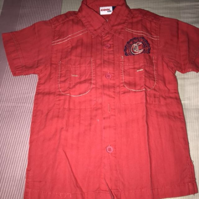 Red cool shirt