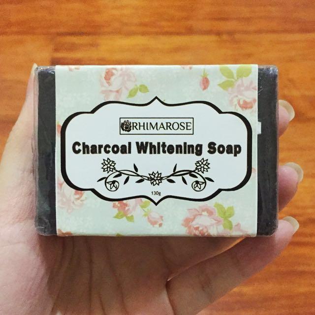Rhimarose Charcoal Whitening Soap