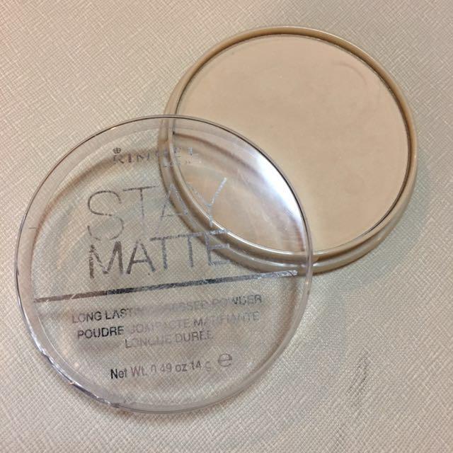 Rimmel Stay Matte Transparent Powder