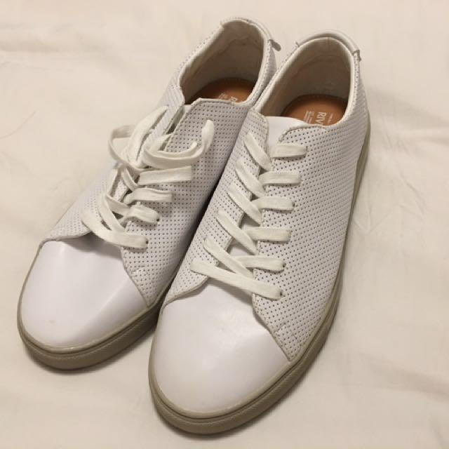 River island White Shoes, Men's Fashion