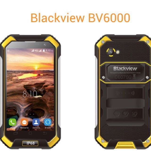 Rugged Phone - Blackview BV6000