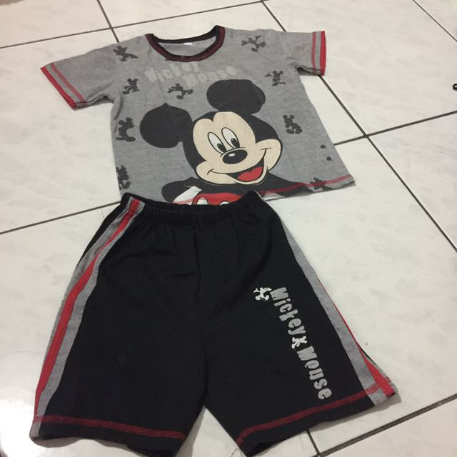Set mickey mouse 4-5thn