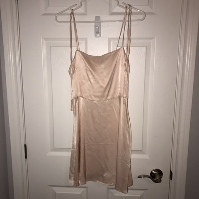 Silky rose dress from forever 21