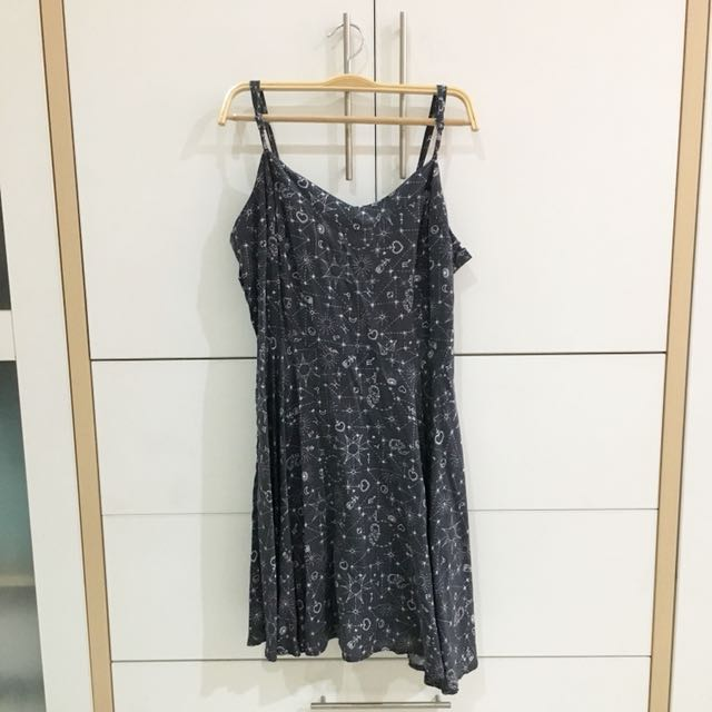 Space cami dress