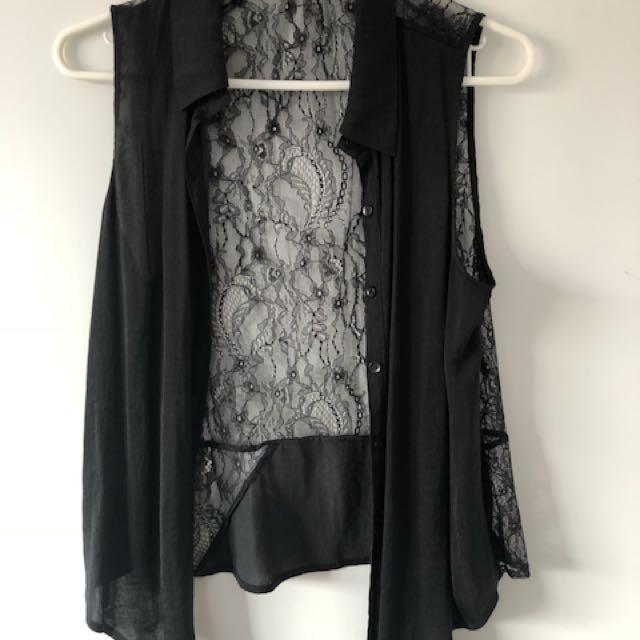 Sportsgirl Size 10 Vest