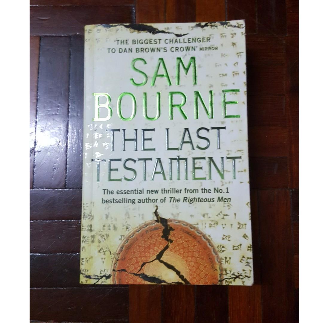 The Last Testament by Sam Bourne