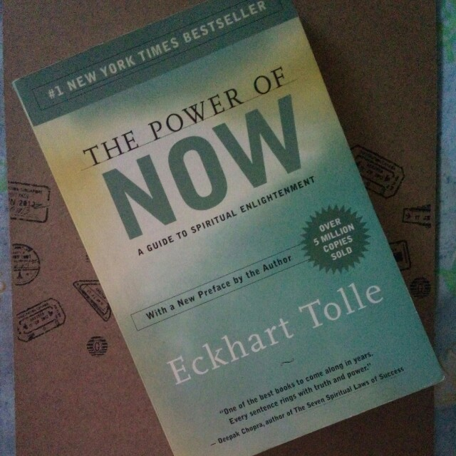 8eadce498c9222 The Power of Now by Eckhart Tolle