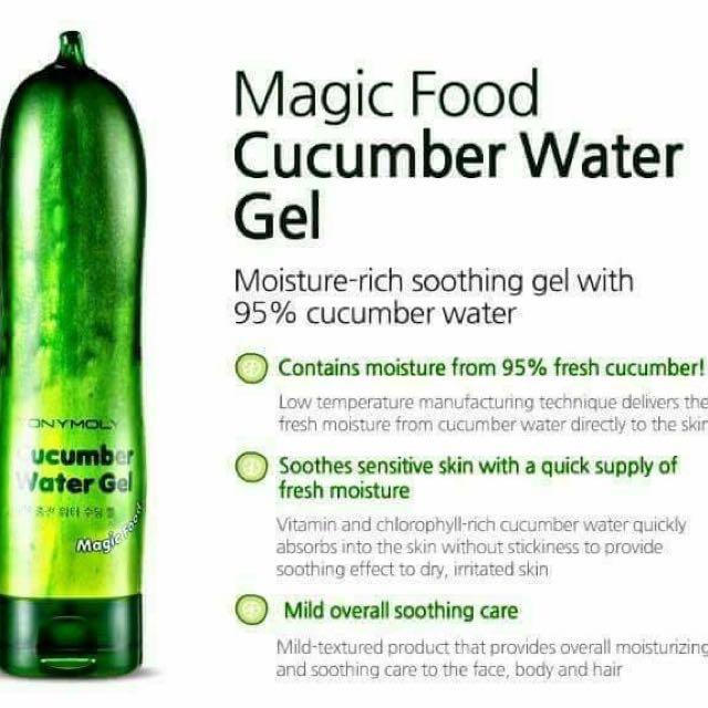 Tony Moly Cucumber Water Gel