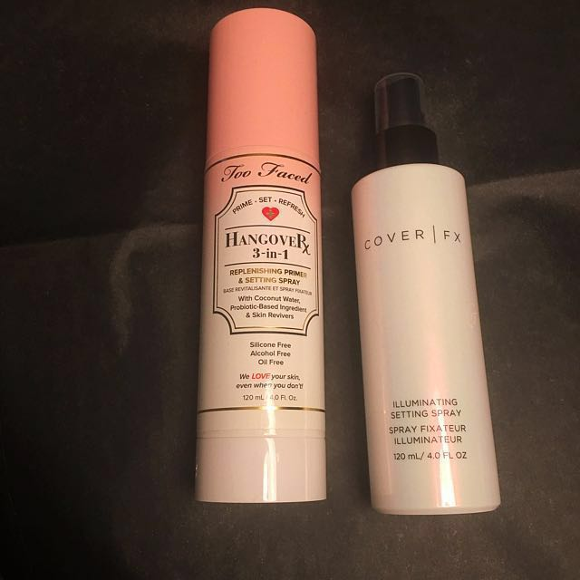 TOOFACED/COVER FX setting spray