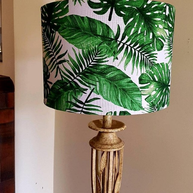 tropical home decor australia tropical palm print lampshade  home   furniture  home decor on  tropical palm print lampshade  home