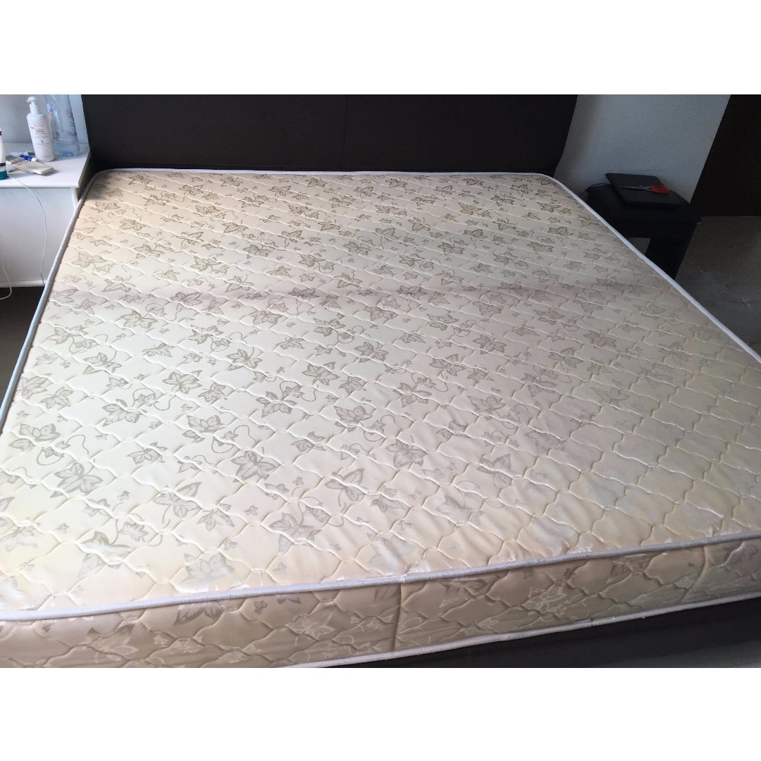Used King size mattress, Furniture, Beds & Mattresses on Carousell