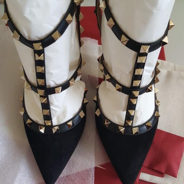 Valentino rockstud heels size 40
