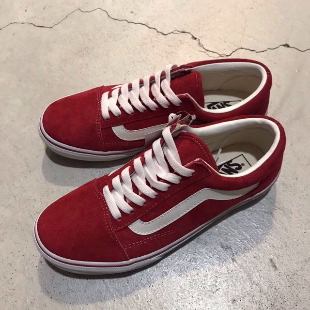 Vans old skool 紅色