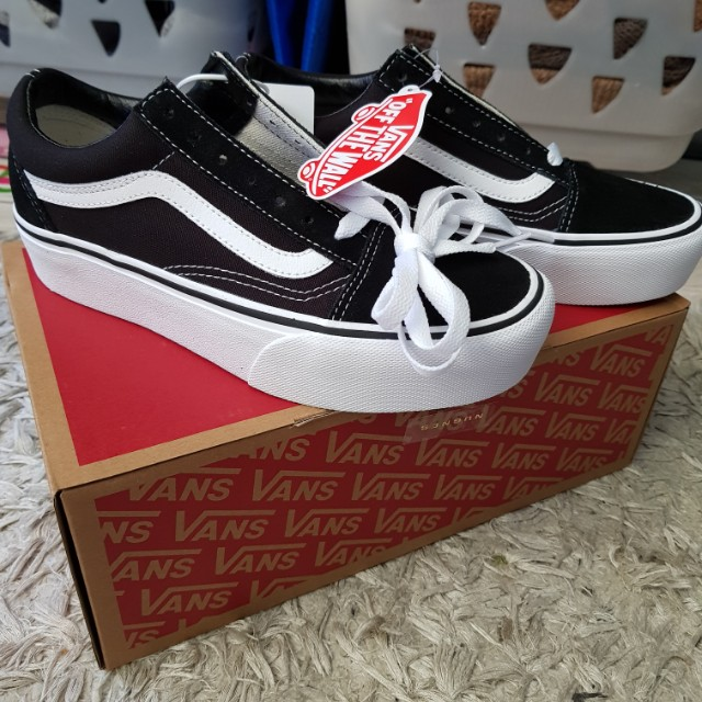 e723a5d7b6 Vans old skool platform us 5.5 men s 7 women s