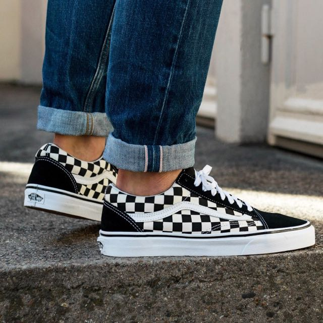 4e815f1d312 Vans Primary Check Old Skool