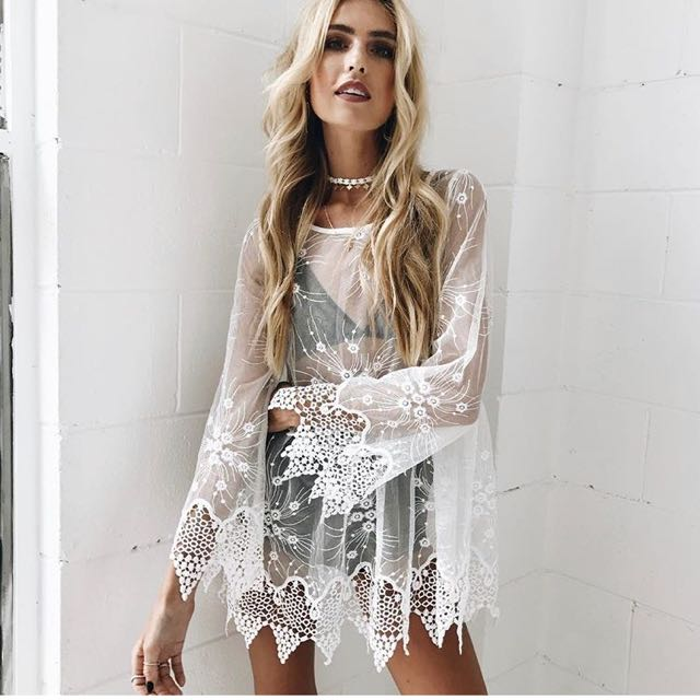 Verge girl lace dress